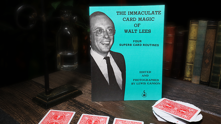 The Immaculate Card Magic of Walt Lees