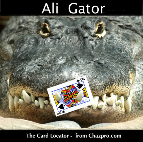 ALI GATOR by Chazpro and The Magic Store!