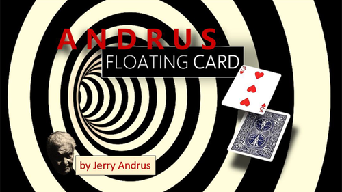 Andrus Floating Card Red (Gimmicks and Online Instructions) by Jerry Andrus