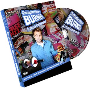 Workout Burner (gimmicks & DVD) by Christopher Köhlers Burner