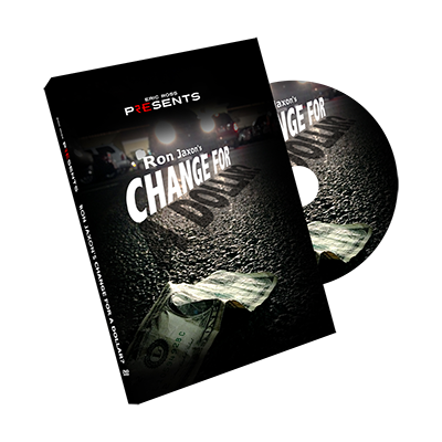 Change for a Dollar (DVD & Gimmick) by Ron Jaxon & Eric Ross