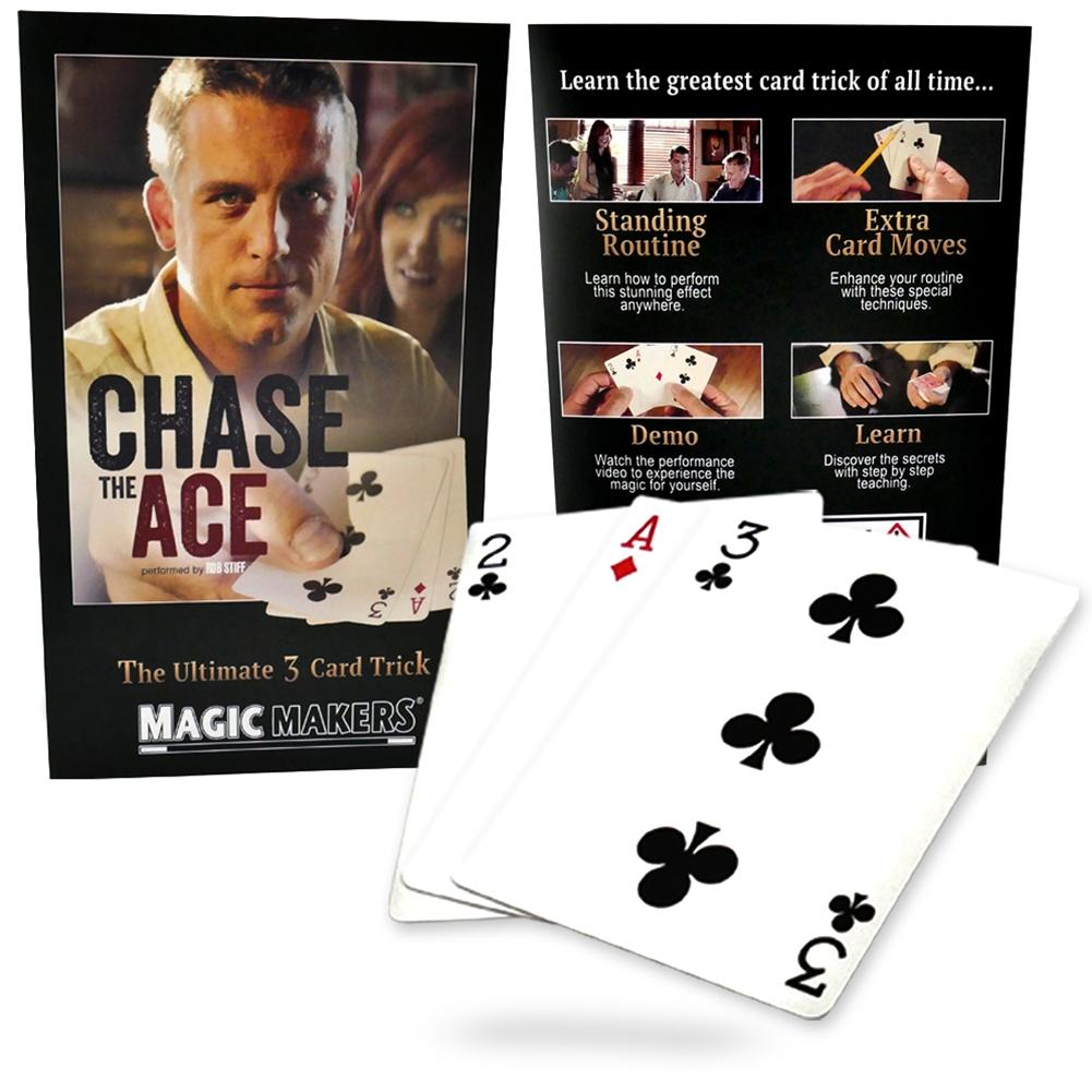 Chase the Ace - 3 Card Magic Trick