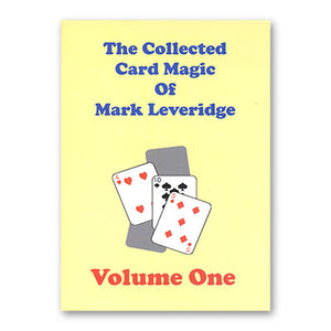 The Collected Card Magic of Mark Leveridge Vol. 1 50% off Clearance priced!