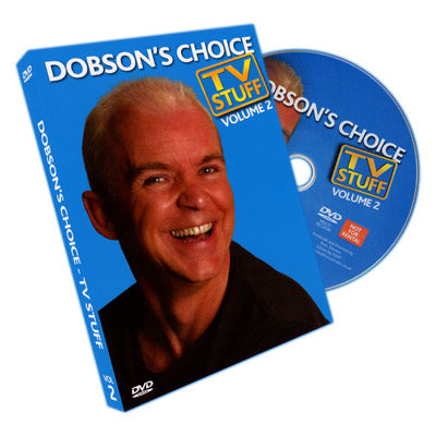 Dobson's Choice TV Stuff Volume 2 by Wayne Dobson 50% OFF! Clearance item!