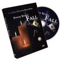 Power Word: Fall by Matt Sconce (DVD + Gimmicks)