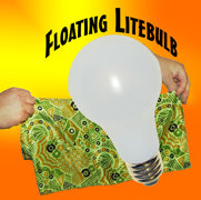Floating LightBulb w/ Cloth & Bulb