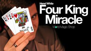 Four King Miracle (Gimmick and Online Instructions) by Henri White