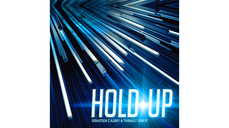 HOLD UP Blue (Gimmick and Online Instructions) by Sebastien Calbry- Released June 3rd