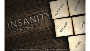 INSANITY (Gimmicks and Online Instruction) by Jean-Pierre Vallarino