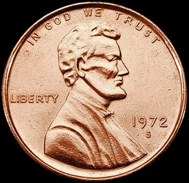 3in Jumbo Coin - American Penny