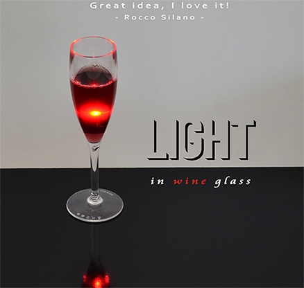 Light in Wine Glass by Amazo Magic