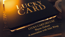 Lucky Card Deluxe by Wayne Dobson & Alan Wong