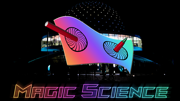 MAGIC SCIENCE by Hugo Valenzuela (Gimmick and Online Instructions)