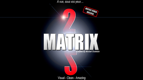 Matrix 2.0 (Red) by Mickael Chatelain