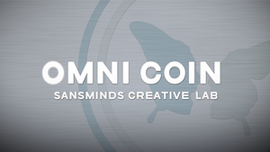 Omni Coin US version (DVD and 2 Gimmicks) by SansMinds Creative Lab