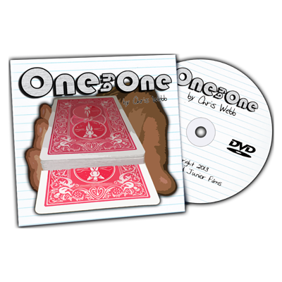 One By One (gimmick & DVD) by Chris Webb