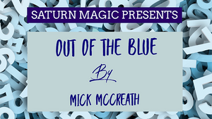 Out of the Blue by Mick McCreath