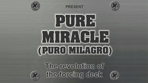 Pure Miracle (Gimmicks and Online Instructions) by Mago Larry