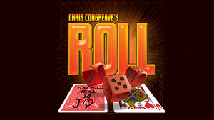Roll (Gimmicks and Online Instructions) by Chris Congreave