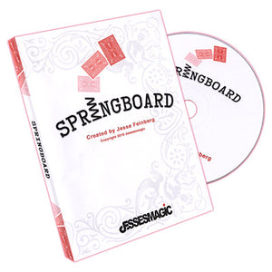 Springboard (Gimmick and DVD) by Jesse Feinberg