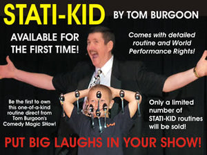 Stati-Kid as recommended by Santa Lee Andrews!