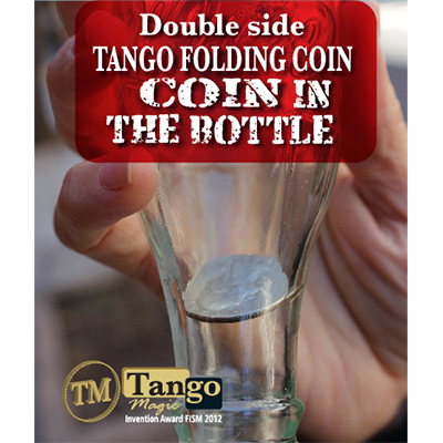 Double Side Folding Quarter (Internal System DVD w/Gimmick) by Tango Magic