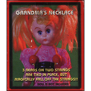 Mrs. Claus Necklace,  Not sure I want Jewelry made by the elves!