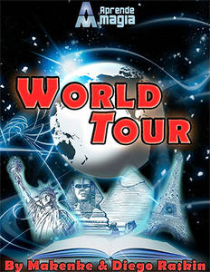 World Tour by Makenke, Diego Raskin and Aprende Magia