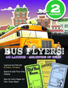 Bus Flyers (pack 2)