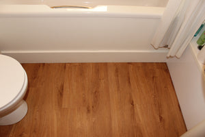 Warm Oak, Fidelity-click Bathroom Flooring