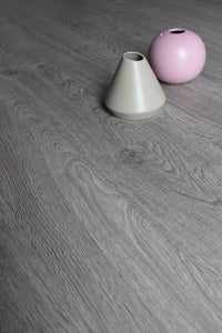 Grey Oak, Fidelity-click, Luxury Vinyl Tile Flooring Sample