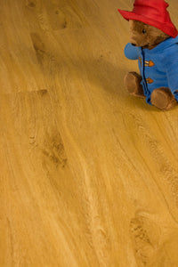 Warm Oak, Serenity-click, Luxury Vinyl Tile Flooring Sample