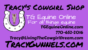 Tracy Gunnels TG Equine Online Tracy's Cowgirl Shop