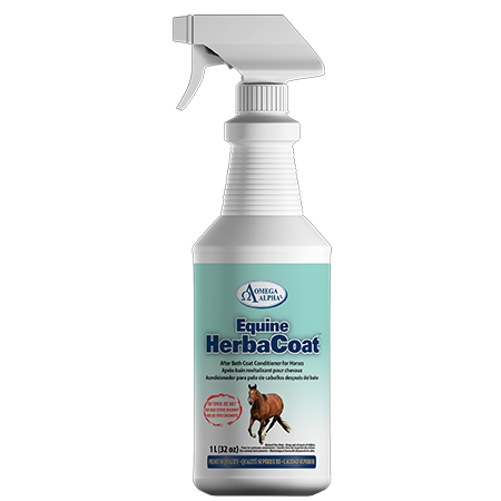 Omega Alpha Equine -- Equine HerbaCoat – Coat Conditioner