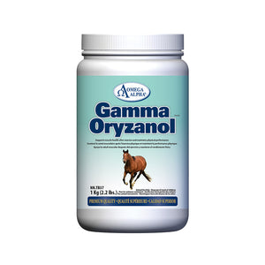 Omega Alpha Equine -- Gamma Oryzanol PERFORMANCE AND RECOVERY PRODUCT