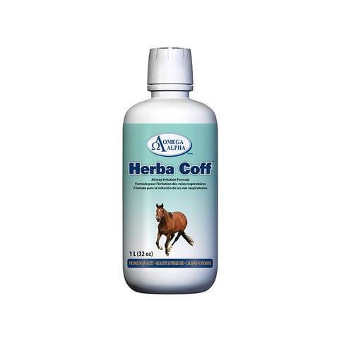 Omega Alpha Equine -- Herba Coff™ Airway Irritation Formula