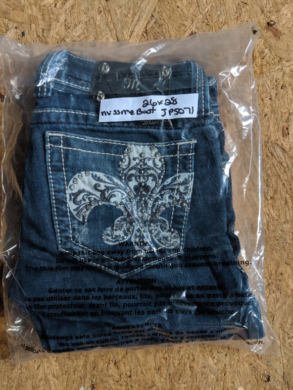Jeans Miss Me Boot JP5071 26 x 28