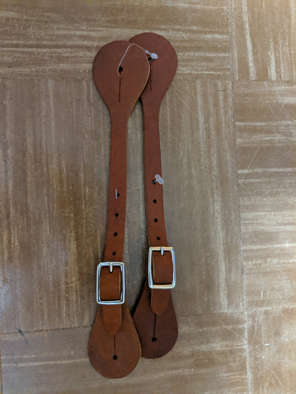 Spur Straps Harness Leather Brown Brand New