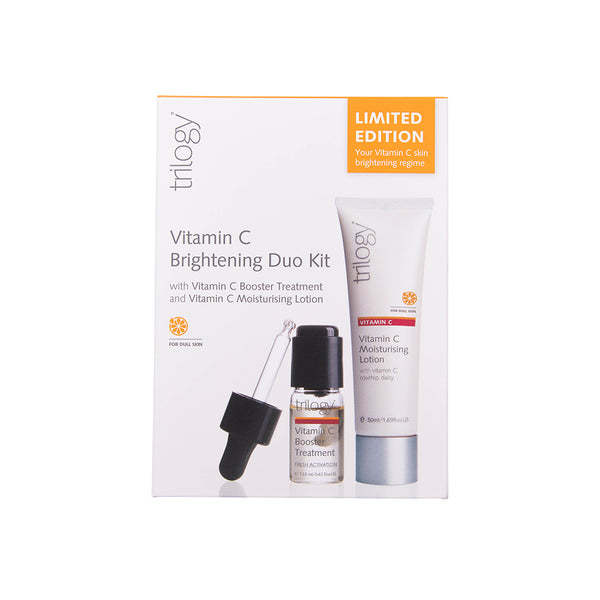 Trilogy Vitamin C Duo Pack - Booster Treatment and Vitamin C Moisturising Lotion