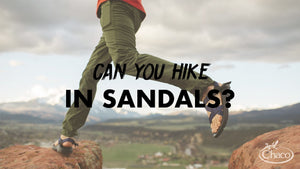 Can You Hike in Sandals?