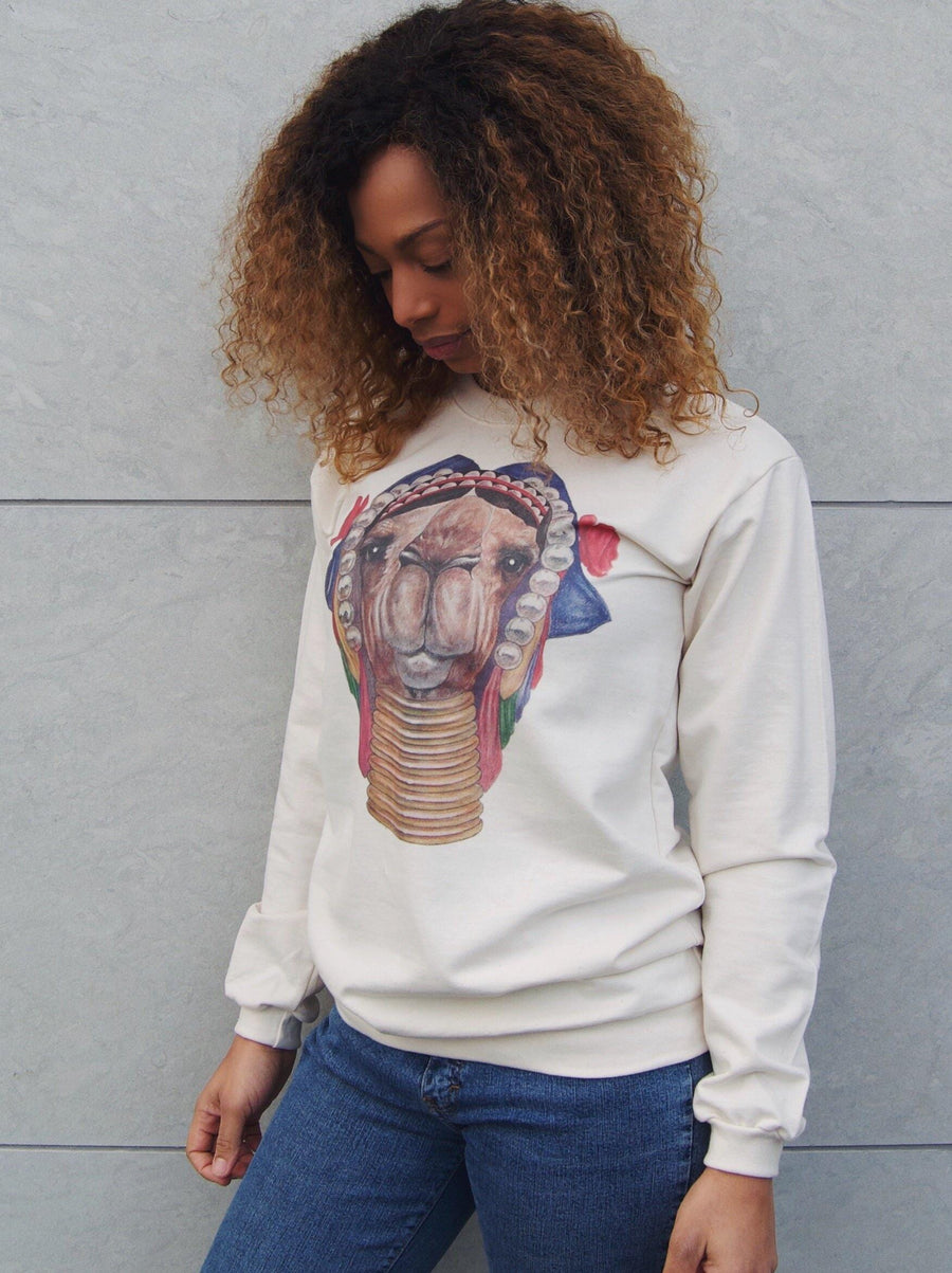KULTUR Sweater Camel