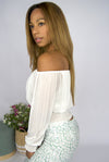 Eleanor blouse White