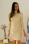 Gemma Dress Beige