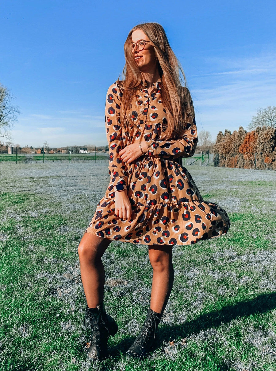 Vila Leopard Dress