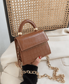 Valeria Bag Mini Brown