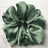 Oversized Scrunchie Satin Mint
