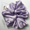 Oversized Scrunchie Satin Lila