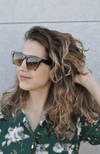 Norah Sunglasses Grey Tortoise