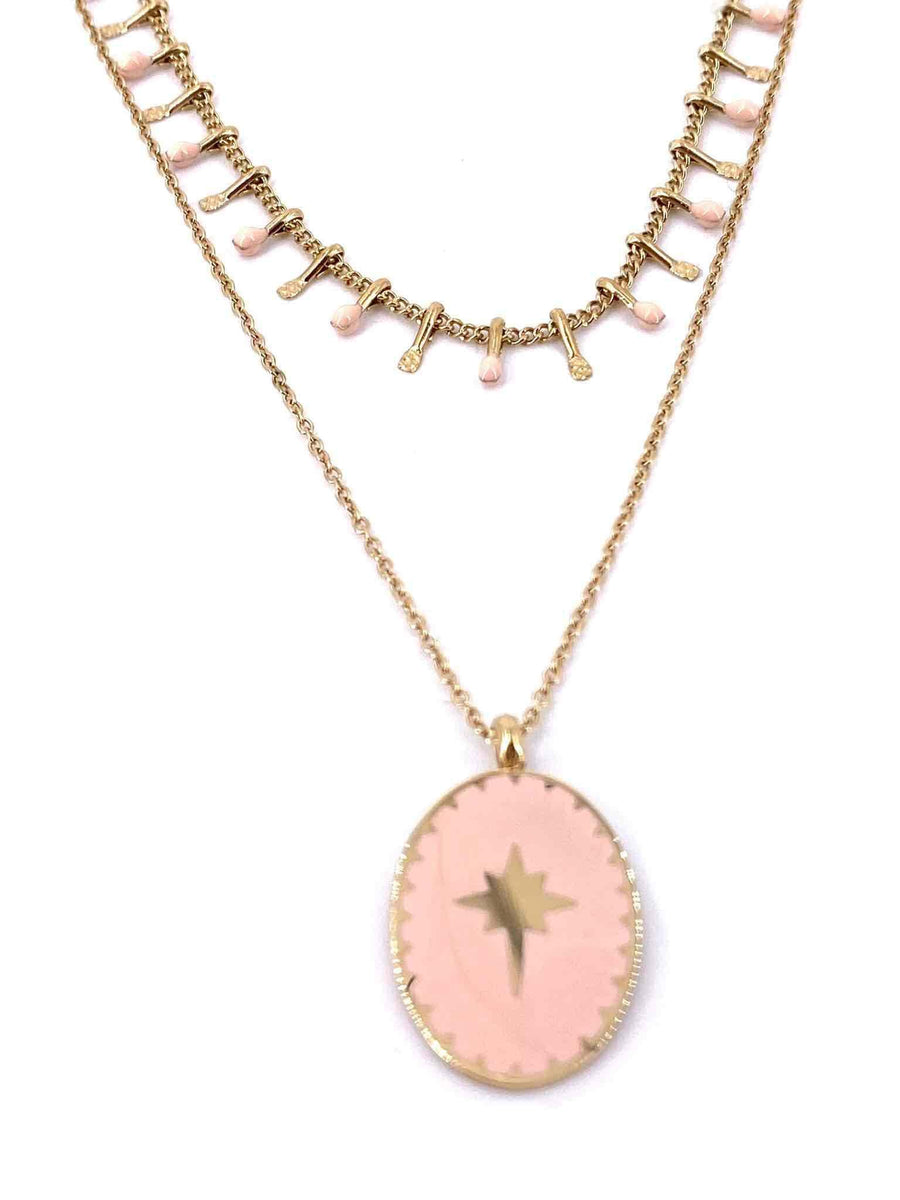Ella Necklace Rose