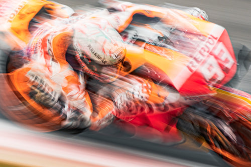 Marc Marquez - by Rob Gray (Polarity Photo)